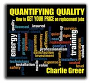 QUANTIFYING QUALITY on Audio CD