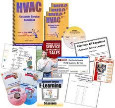Complete HVAC Customer Service Training system