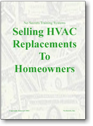 How To Sell HVAC Replacements to Homeowners