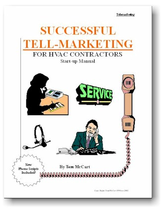 Successful TELL-Marketing for HVAC Contractors